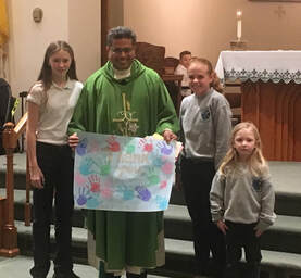 Fr. Augusty Celebrates the Anniversary of His Ordination