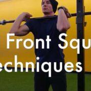 Front Squat Grip Techniques