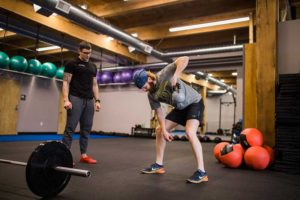 Kettle Bell Rows