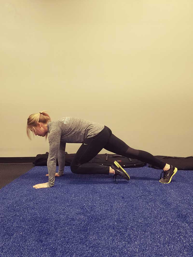 Mountain Climbers Position 1