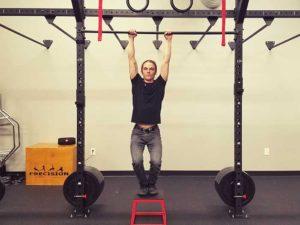 Hanging Scapula Retraction Position 3