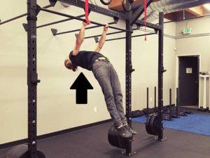 Hanging Scapula Retraction Position 2