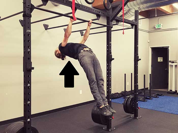 Hanging Scapula Retraction Position 2