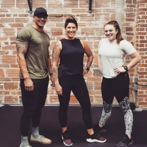 Precision Personal Training Client of the Month Lisa