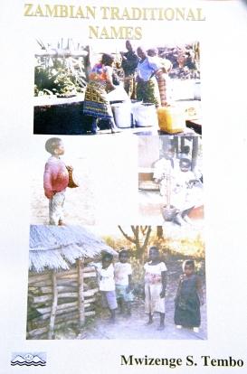 Zambian Names book cover