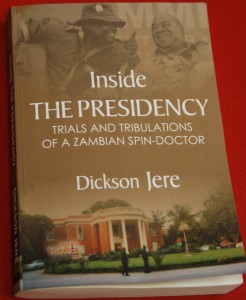 """Cover of the book: """"Inside the Presidency."""""""