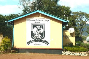 "I left a copy of my novel ""The Bridge"" at Chizongwe Secondary School."