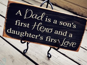 Sons and daughters have different experiences with their fathers. Source: Google Images.