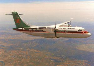 Zambia Airways flight from Lusaka to Mongu