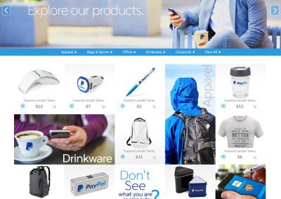 PayPal Webstore Design