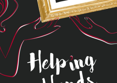 """Movie Poster """"HELPING HANDS"""""""