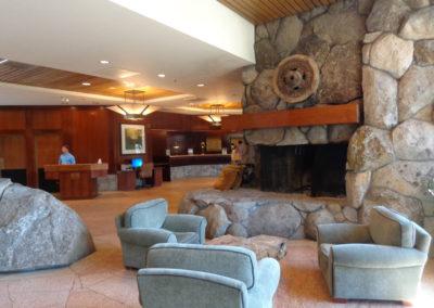 Resort at Squaw Creek - Lobby & Fireplace