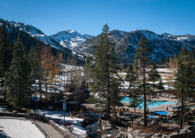 Resort at Squaw Creek - view - winter