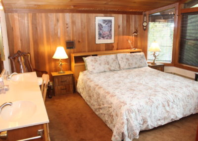 BR #1: King Bed & double sinks