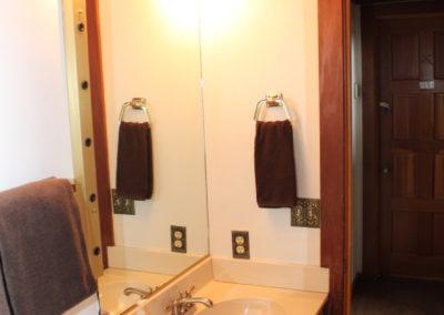 Bath #1: Sink (tub/shower & toilet not shown)