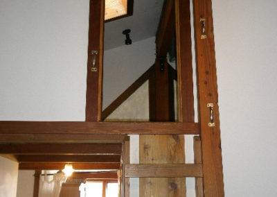 Ladder to Loft Door