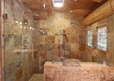 Master Suite 1 - Bath - double shower