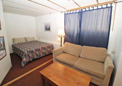 Studio - Living Area & Bed Alcove