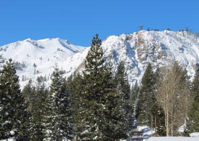 View West - Main Deck - Squaw Peak & Rockpile