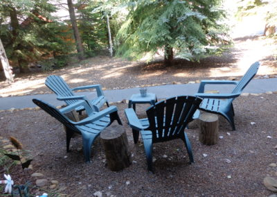 9 Front yard seating 2