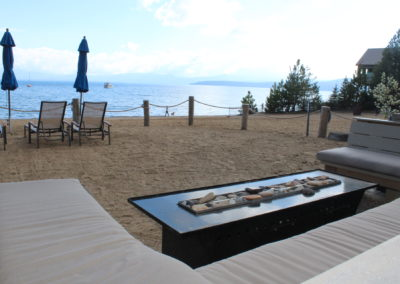 Fire Pit on Private HOA Beach