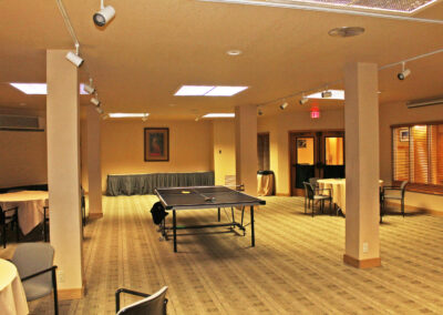 Ping Pong in the Ponderosa Room
