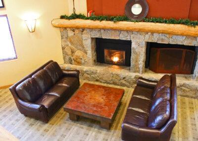 z Lobby Fireplace
