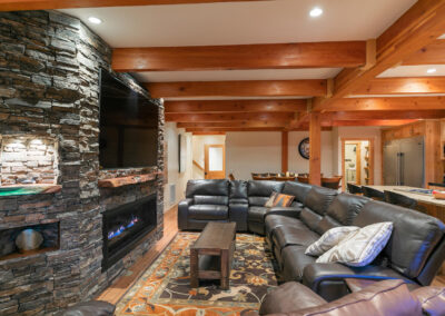 Great Room - Living Area - view d