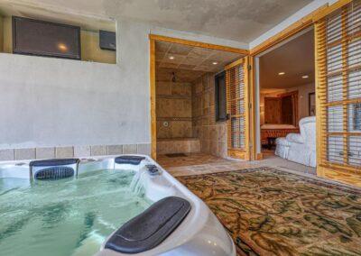 Spa Area - Hot Tub, Shower, Sauna, BR 4