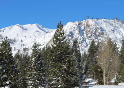 View from Main Deck - Squaw Peak & Rockpile