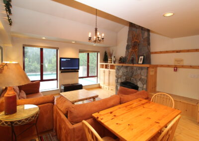 Living & Dining Areas - view a
