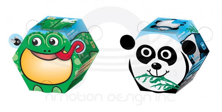 Target Kids Swab Packaging 3D Product Development