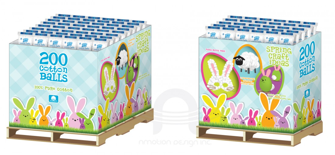 EASTER HOLIDAY FULL PALLET AND HALF PALLET DISPLAY