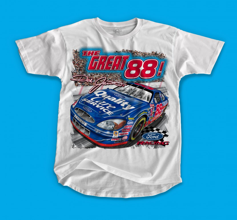 DALE JR. THE GREAT 88 FRONT