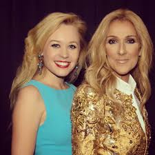 Clara Helms with Celine Dion 2018