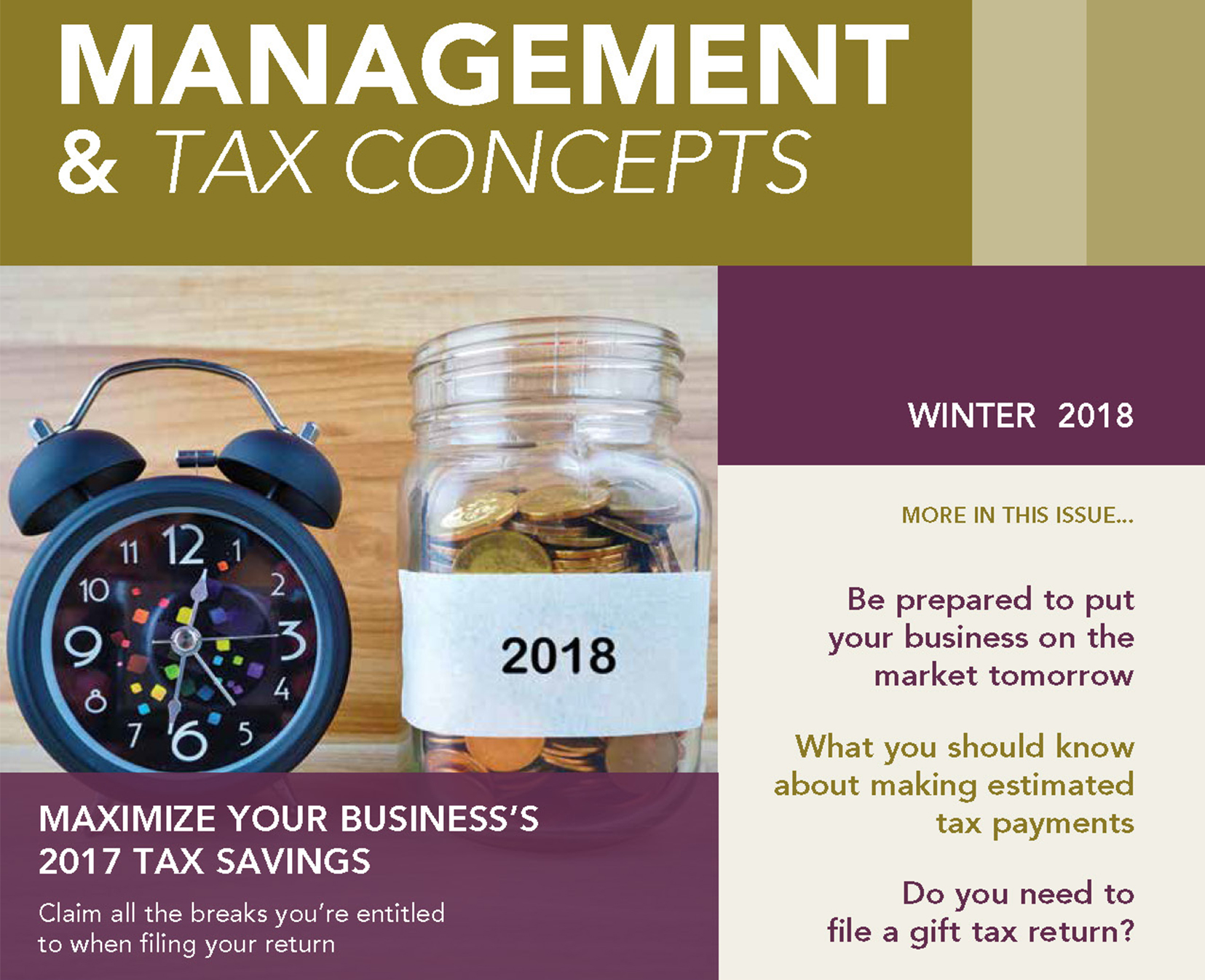 Read more about the article Management & Tax Concepts
