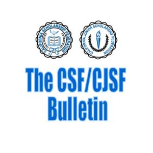 California Scholarship Federation Presidents Bulletin
