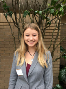 Jenna Reimer, Seymour Central Coast finalist 2017-18
