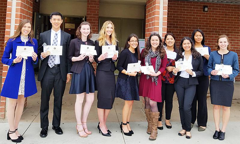 CSF Seymour Award 2017-18 South Region Finalists