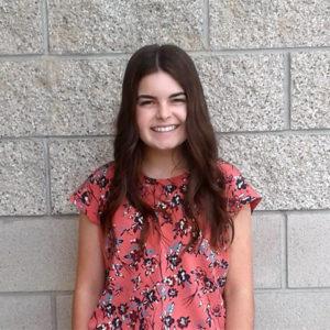 Hayley Fernandes, Mission Oak High School, finalist CSF 2017-18 Seymour Award Central Region