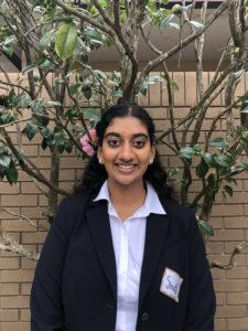 Sruthi Mukkamala, Seymour Central Coast finalist 2017-18