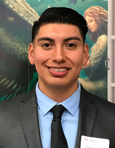 Seymour Central 2019 Finalist Andy Garcia, Granite Hills High School Chapter 1212, Adviser Stacy Vehrs