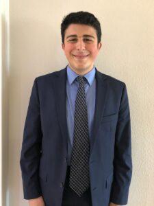 Adel Battikkha, Finalist, Chapter 1276   Westview High School, San Diego Nominated by Diana Loo, CSF Adviser