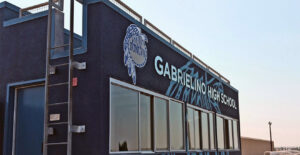 Photo of San Gabrielino High School from Google maps photo by Paul Borne, January 2018