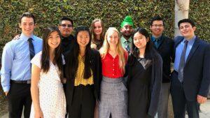 CSF Seymour Award 2018-19 South Region group photo of ten finalists