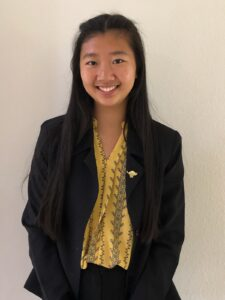 Amy Tran, Chapter 74   Elsinore High School, Wildomar Nominated by: Felicia Asbury, CSF Adviser