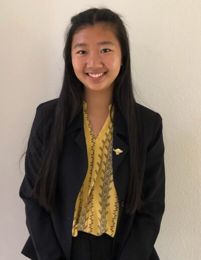 Amy Tran, Chapter 74 | Elsinore High School, Wildomar Nominated by: Felicia Asbury, CSF Adviser