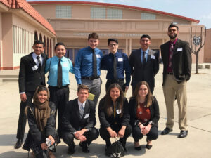 Seymour Central Award 2019 group photo of Fernando Ceja, Recipient and fellow finalists