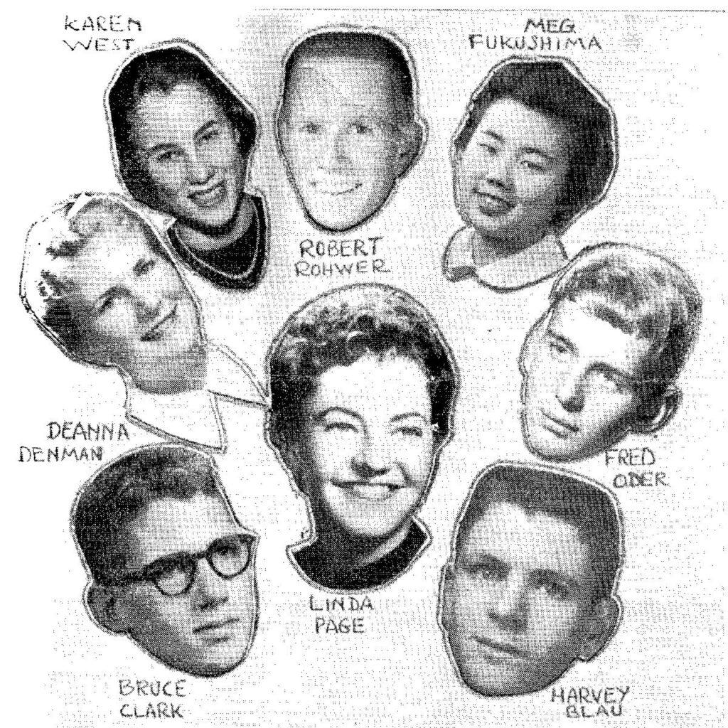 CSF Seymour Award Winners 1959-1960