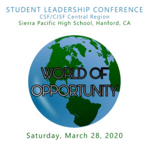 Central Student Leadership COnference 2020 World of Opportunity